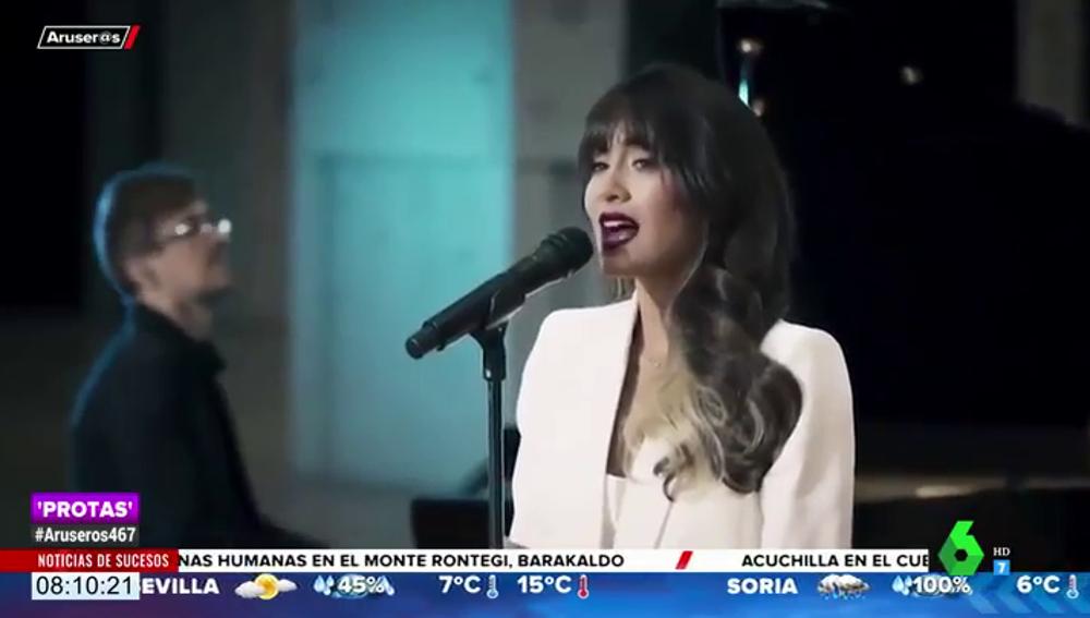 """Escucha la versión """"magistral"""" de Aitana del 'Mujer contra mujer' de Mecano"""