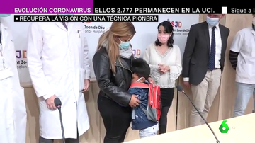 El San Joan de Deu salva la visión de un ojo de un niño gracias a una técnica pionera en el mundo