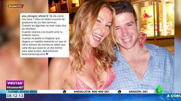El desgarrador mensaje de Ana Obregón a su hijo Álex Lequio