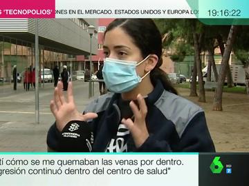 """Habla la joven a la que dos mossos 'tasearon' en Sabadell: """"Sentía que mis venas se estaban quemando por dentro"""""""