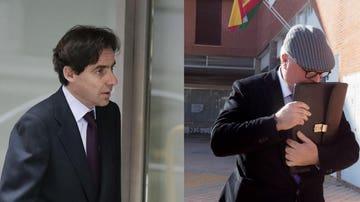 Imágenes de archivo de Javier López Madrid y el excomisario Villarejo