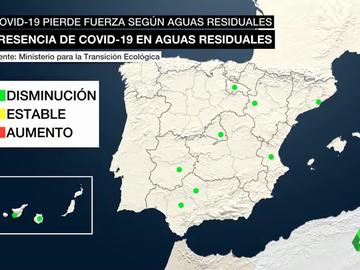 Esto es lo que dicen nuestras aguas residuales sobre la evolución del coronavirus en España