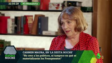 """Carmen Maura: """"Algunos de nuestros políticos no han leído un libro entero nunca"""""""