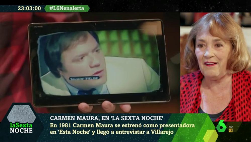 """El día en el que Carmen Maura compartió plató con el comisario Villarejo: """"Fue el trabajo más difícil de mi vida"""""""