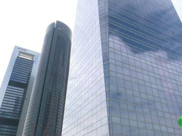 Imagen de las cuatro torres de Madrid