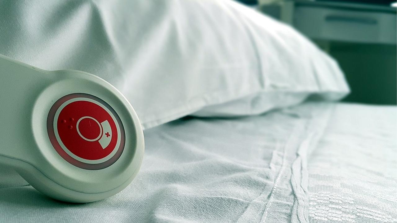 Imagen de archivo de una cama de hospital