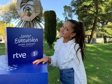Soleá, representante española de Eurovisión Junior 2020