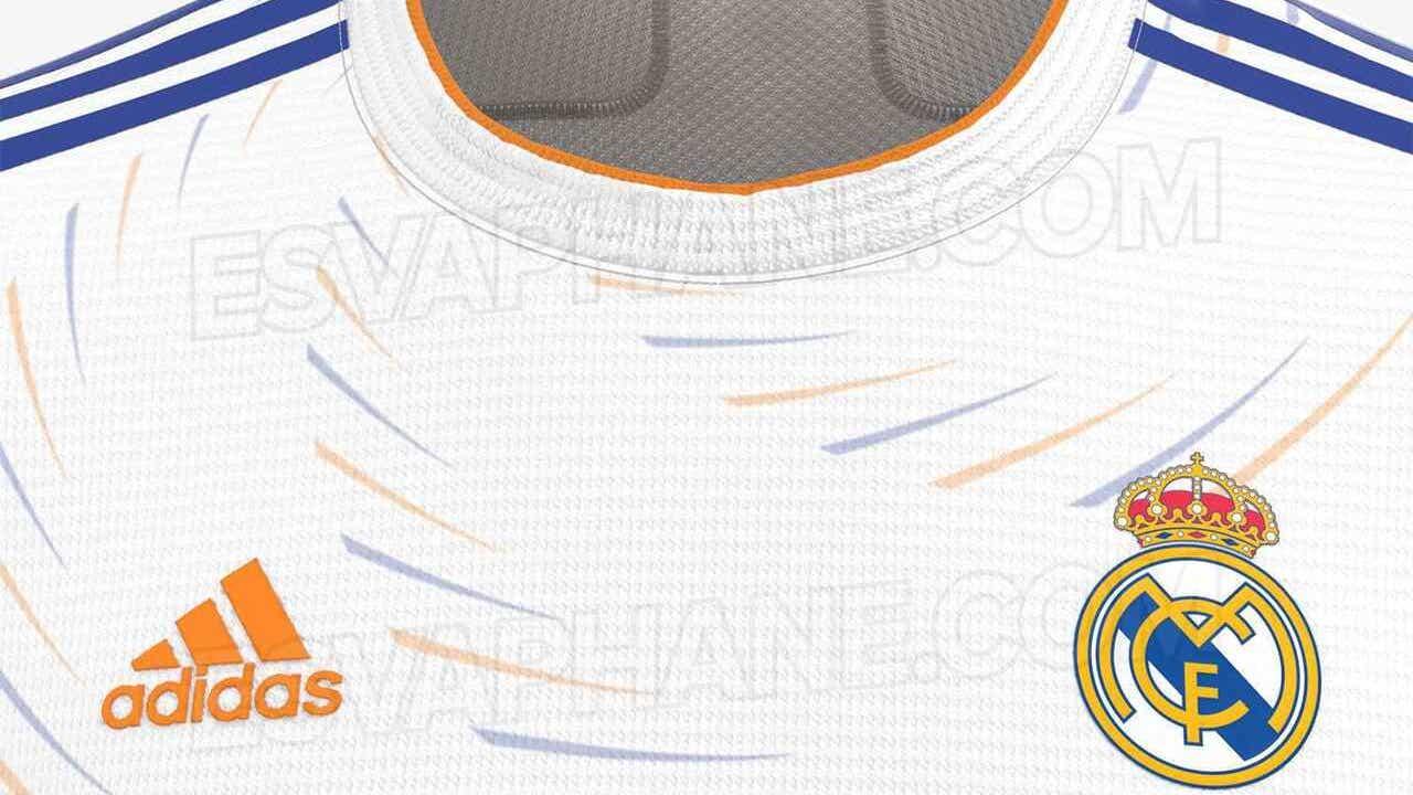 Posible camiseta del Real Madrid 2021-22