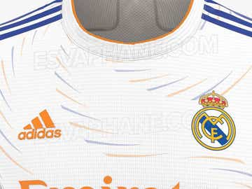 Posible camiseta del Real Madrid 2021-22