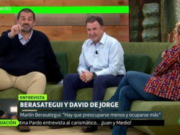 Berasategui y David de Jorge en Liarla Pardo