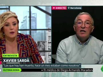 """Xavier Sardà: """"Maradona era un jugador único y una persona deleznable"""""""