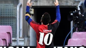 Homenaje de Leo Messi a Diego Armando Maradona