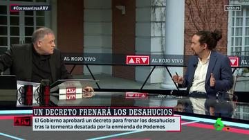 """Iglesias, sobre la enmienda de los desahucios: """"Es una victoria de la sociedad española"""""""