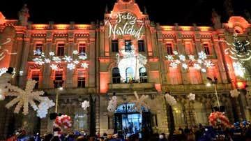 Encendido luces de navidad Santander