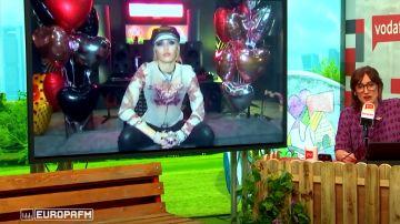 Miley Cyrus en 'yu No te pierdas nada'