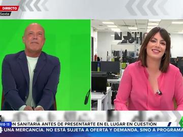 Conoce el secreto de Eva Rojas, la periodista de laSexta Noticias que conecta con Aruser@s durante la baja de Paula del Fraile