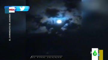 El impactante vídeo viral de la Luna en el que muchos aseguran ver la imagen de Maradona en el cielo