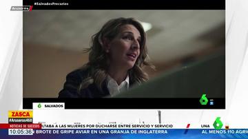 La crítica de Yolanda Díaz a PP y Vox en Salvados