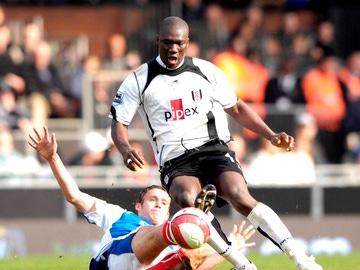 Papa Bouba Diop, en el Fullham FC