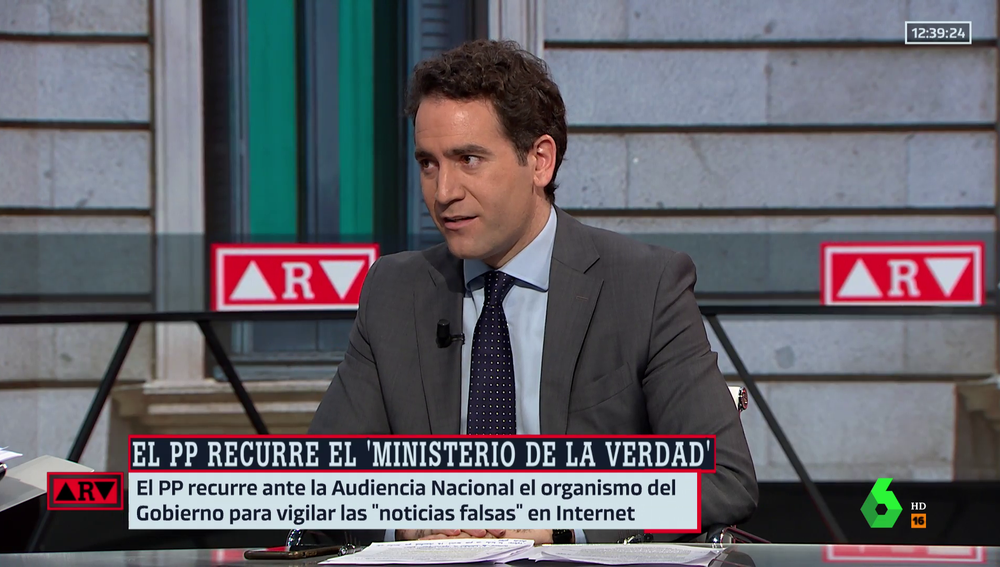 Teodoro García Egea en ARV