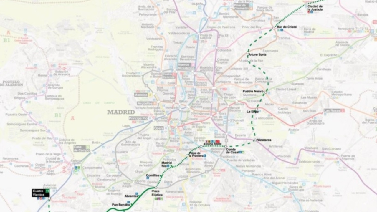Proyecto de ampliación de la línea 11 de Metro de Madrid