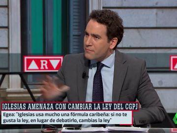 Teodoro García Egea en 'Al Rojo Vivo'