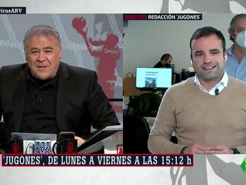 La divertida (e inesperada) aparición de Josep Pedrerol en Al Rojo Vivo