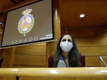 Ione Belarra, dirigente de Unidas Podemos y secretaria de Estado para la Agenda 2030.