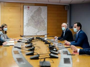 Reunión entre Ignacio Aguado y el Ministerio de Sanidad