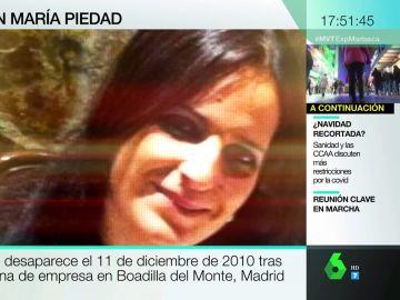 Diez años sin rastro de María Piedad.