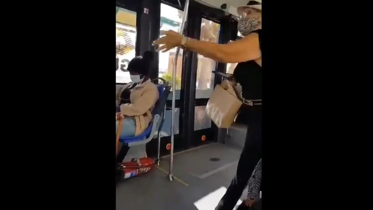 Captura de pantalla del vídeo del incidente que ha sido difundido en redes sociales.