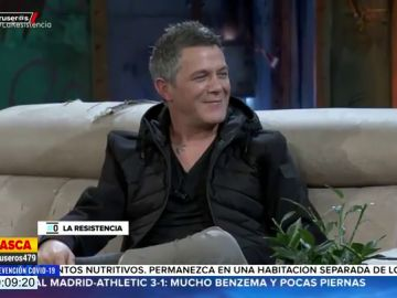 Las respuestas irónicas de Alejandro Sanz en 'La Resistencia' que dejan cortado de David Broncano