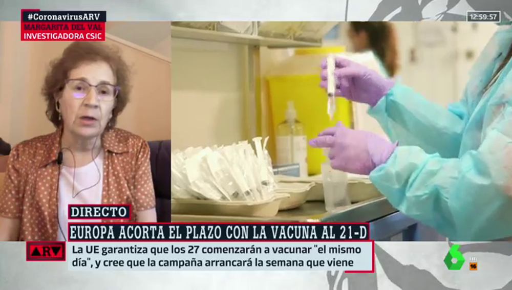 Margarita del Val en 'Al Rojo Vivo'