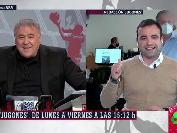 El vacile de Antonio García Ferreras y Josep Pedrerol