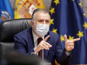 El presidente del Gobierno de Canarias, Ángel Víctor Torres