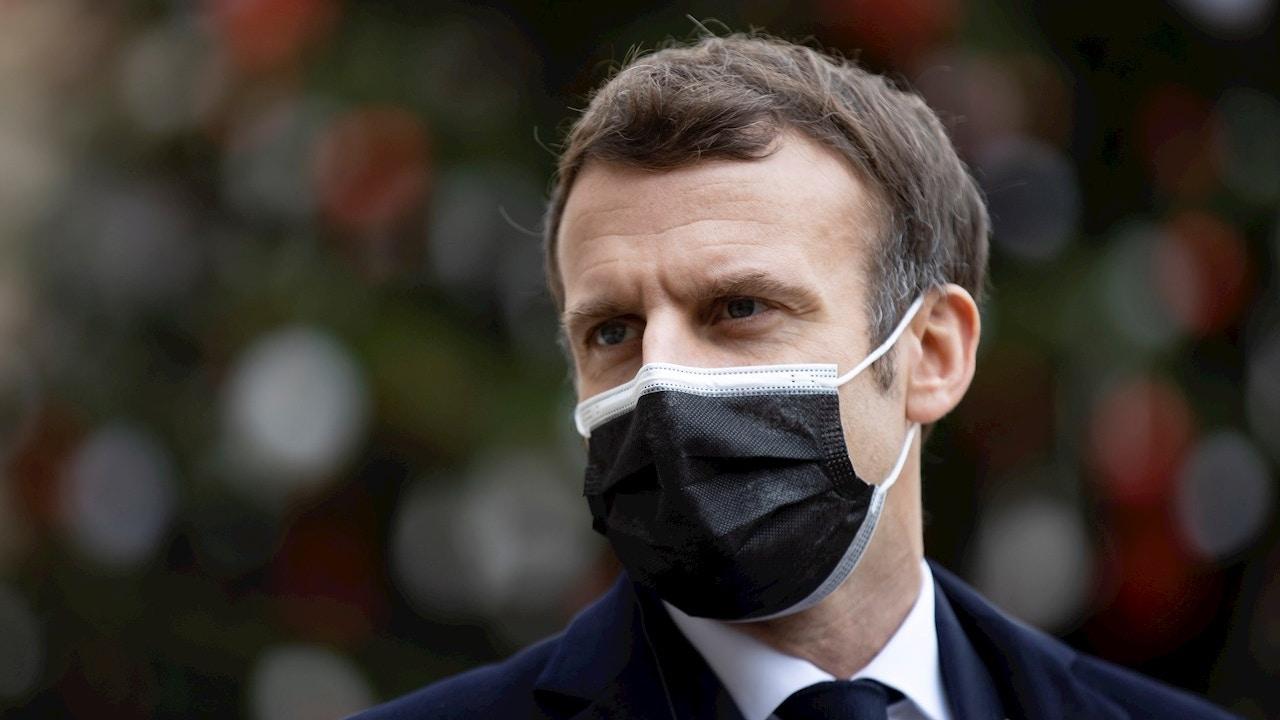 Enmanuel Macron, presidente de Francia
