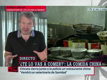"""Chicote se adentra en una cocina china llena de bichos en Zaragoza: """"'una cagadita de ratón te estropea el arroz"""""""