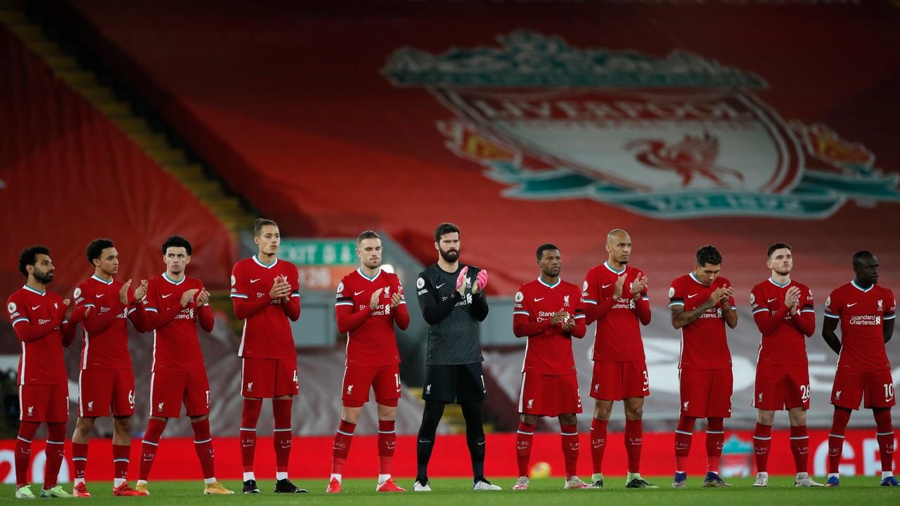 Futbolistas del Liverpool