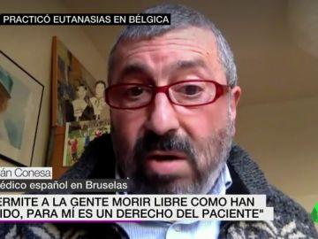 """Habla un doctor español que ha practicado una veintena de eutanasias en Bélgica: """"Es un derecho del paciente"""""""