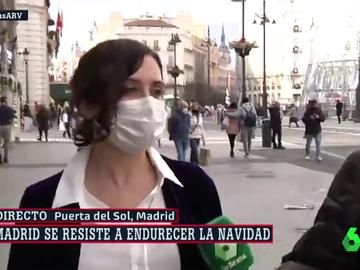 """Ayuso sigue con su férrea defensa al rey emérito: """"En la historia de España Juan Carlos I ha aportado más que Pablo Iglesias"""""""