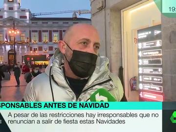 """""""Vamos a celebrar la Navidad con 40 personas en un piso"""": la impactante confesión de un hombre en Madrid"""
