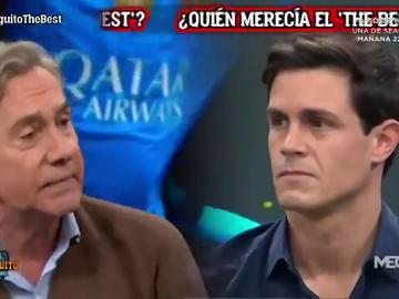 "Brutal cara a cara entre Rafa Almansa y Edu Aguirre: ""No puedes menospreciar a Messi para alabar a Cristiano"""