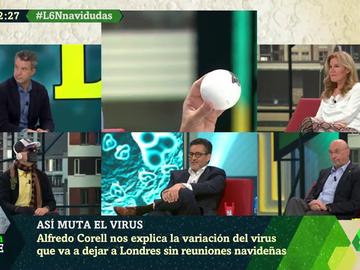 Con canciones navideñas y el virólogo José Antonio López disfrazado: así explica Alfredo Corell cómo puede mutar un virus