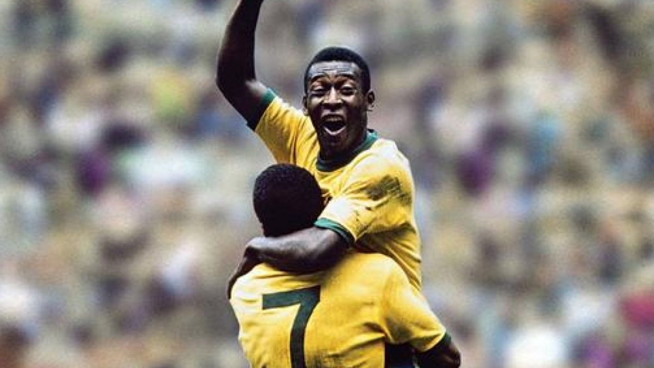 La mítica celebración de Pelé