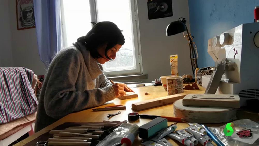 Pilar Sánchez, residente en Alemania