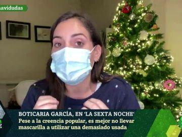 Boticaria García desmonta los mitos sobre las mascarillas y nos recuerda qué errores seguimos cometiendo