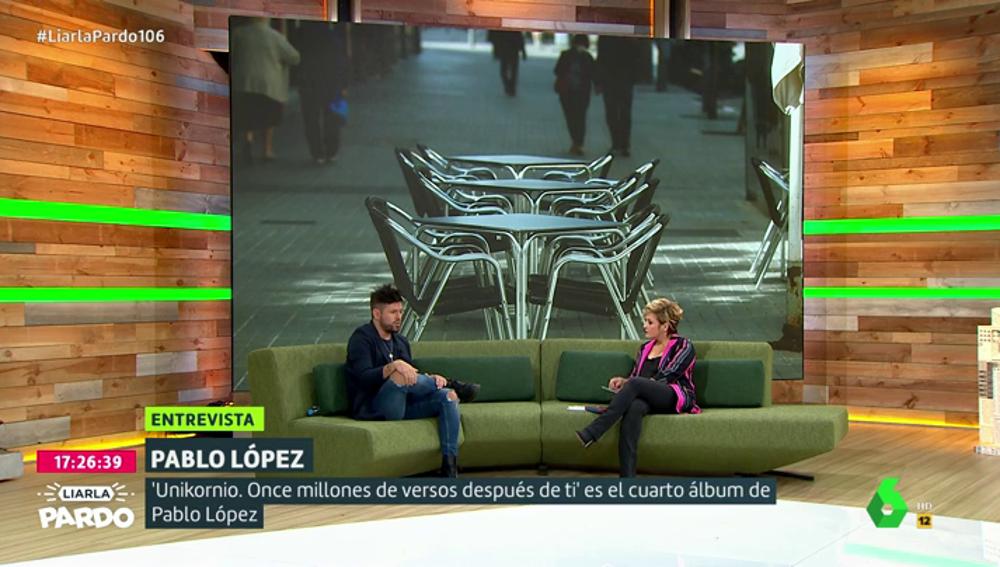 Pablo López en Liarla Pardo