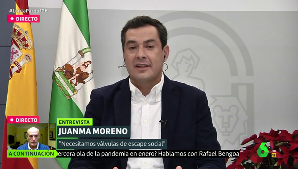 """Juanma Moreno denuncia que el Gobierno sigue sin aclarar cómo será el reparto de la vacuna: """"Que no se juegue con algo tan sensible"""""""