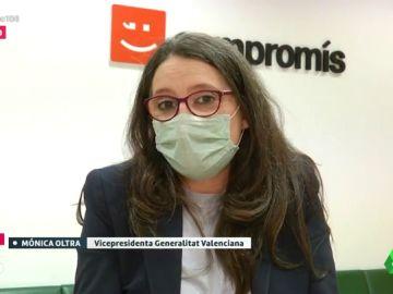 """Mónica Oltra: """"Decir que todos tenemos que hacer lo mismo es infantilizar a la ciudadanía"""""""