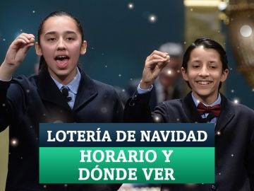 Horario y dónde ver en Televisión la Lotería de Navidad 2020
